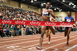2020 USATF Indoor Championship<br /> Albuquerque, NM 2020-02-15<br /> photo credit: © 2020 Kevin Morris<br /> womens 400m final, adidas