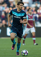 Football - 2016 / 2017 Premier League - West Ham United vs. Middesborough <br /> <br /> George Friend of Middlesborough at The London Stadium.<br /> <br /> COLORSPORT/DANIEL BEARHAM
