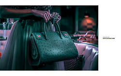 Winner Fashion Advertising International Color Awards 2020 - SWOONLUXE A chic cool Fashion Campaign of luxurious handbags, clutches, purses. Model Alona Korzun. Shot at The Grafton Hotel on Sunset, Los Angeles California. Stylist Melissa Laskin. Makeup and Hair Veronica Lane Rodgers. Production by Neptune. Photography and copyright Amyn Nasser. All Rights Reserved.