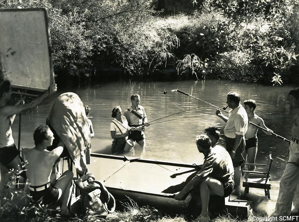 1936 Filming Theodora Goes Wild at Columbia Studios