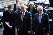 Nobel Peace Prize winners arrives at The Nobel Peace Prize ceremony in Oslo along with Thorbjoern Jagland.
