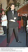 Lord Johnson Somerset. Tiger Star evening. Royal College of Music, London. 15/11/96. Film 96735f19<br />© Copyright Photograph by Dafydd Jones<br />66 Stockwell Park Rd. London SW9 0DA<br />Tel 0171 733 0108
