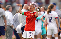 USA's Megan Rapinoe celebrates after the final whistle