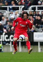 Photo: Andrew Unwin.<br /> Newcastle United v Liverpool. The Barclays Premiership. 19/03/2006.<br /> Liverpool's Harry Kewell.