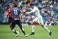 Real Madrid's Cristiano Ronaldo and Sociedad Deportiva Eibar's Izet Hajrovic during La Liga match. April 09, 2016. (ALTERPHOTOS/Borja B.Hojas)