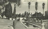 1937 Hollywood Forever Cemetery postcard