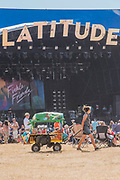 The 2018 Latitude Festival, Henham Park. Suffolk 15 July 2018