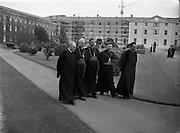 09/10/1956<br /> 10/09/1956<br /> 09 October 1956<br /> <br /> Bishops October Meeting at Maynooth