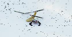 16.03.2012, Planica, Kranjska Gora, SLO, FIS Ski Sprung Weltcup, Einzel Skifliegen, im Bild Nejc Dezman (SLO),  during the FIS Skijumping Worldcup Individual Flying Hill, at Planica, Kranjska Gora, Slovenia on 2012/03/16. EXPA © 2012, PhotoCredit: EXPA/ Oskar Hoeher