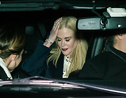 Nicole Kidman is seen leaving the Calvin Klein Collection during New York Fashion Week at New York Stock Exchange. 13 Feb 2018 Pictured: Nicole Kidman. Photo credit: MEGA TheMegaAgency.com +1 888 505 6342