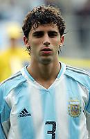 Fotball <br /> FIFA World Youth Championships 2005<br /> Enschede<br /> Nederland / Holland<br /> 11.06.2005<br /> Foto: Morten Olsen, Digitalsport<br /> <br /> USA v Argentina 1-0<br /> <br /> Lautaro Formica - Argentina
