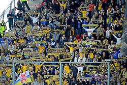 16-05-2010 VOETBAL: FC UTRECHT - RODA JC: UTRECHT<br /> FC Utrecht verslaat Roda in de finale van de Play-offs met 4-1 en gaat Europa in / Roda support publiek uitvak<br /> ©2010-WWW.FOTOHOOGENDOORN.NL