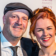 NLD/Hilversum//20170306 - uitreiking Buma Awards 2017, Paskal Jakobsen en partner Doortje