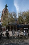 Riviervismarkt, Den Haag, bij de Grote Kerk - Near the Grote Kerk, The Hague Netherlands