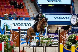 CARRASCO Rodrigo (CHI), La Numero Uno<br /> Göteborg - Gothenburg Horse Show 2019 <br /> Int. jumping competition presented by Volvo<br /> Against the clock (1.40 m)<br /> Longines FEI Jumping World Cup™ Final and FEI Dressage World Cup™ Final<br /> 03. April 2019<br /> © www.sportfotos-lafrentz.de/Stefan Lafrentz