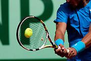 Roland Garros 2011. Paris, France. May 24th 2011..Spanish player Rafael NADAL against John ISNER