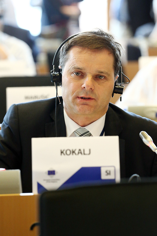 12 May 2017, 123rd Plenary Session of the European Committee of the Regions <br /> Belgium - Brussels - May 2017 <br /> <br /> Mr KOKALJ Anton, Member of the Municipal Council of the Municipality of Vodice, Slovenia<br /> <br /> © European Union / Patrick Mascart
