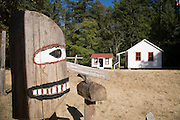 Schoolhouse, Stuart Island, San Juan Islands, Washington State<br />