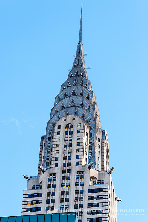 US, New York City. Chrysler Building.