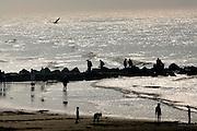 OSTEND, BELGIUM, Apr 04, 2007, Coastline of Ostend. PHOTO © Christophe Vander Eecken..