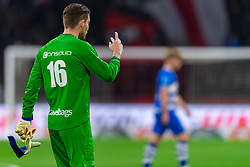 13-03-2019 NED: Ajax - PEC Zwolle, Amsterdam<br /> Ajax has booked an oppressive victory over PEC Zwolle without entertaining the public 2-1 / Mickey van der Hart #16 of PEC Zwolle