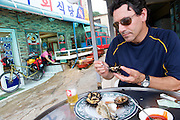Sea Urchin Lunch, Geoje Island, South Korea