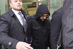 """© Licensed to London News Pictures. 20/11/2015. London, UK. Mazher Mahmood, known as the """"Fake Sheikh"""" leaves Wetminster Magistrates court where he appears with Alan Smith, charged with perverting the course of justice. Photo credit : Vickie Flores/LNP"""