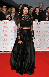 Jessica Wright attending the National Television Awards 2018 held at the O2, London. Photo credit should read: Doug Peters/EMPICS Entertainment