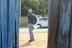 KRUGERSDORP, SOUTH AFRICA - APRIL 08: A health official at a Covid19 screening centre in the Munsieville suburb on April 08, 2020 in Krugersdorp, Mogale South Africa. Under pressure from a global pandemic. President Ramaphosa declared a 21 day national lockdown, mobilising goverment structures accross the nation to combat the rapidly spreading COVID-19 virus, or Coronavirus. The lockdown requires businesses to close and the public to stay at home during this period, unless part of approved essential services.(Photo by Dino Lloyd)