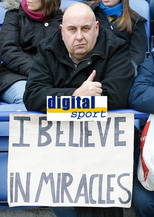 Photo: Steve Bond/Richard Lane Photography. <br />Leicester City v Scunthorpe United. Coca Cola Championship. 29/03/2008. Optimistic Leicester fan