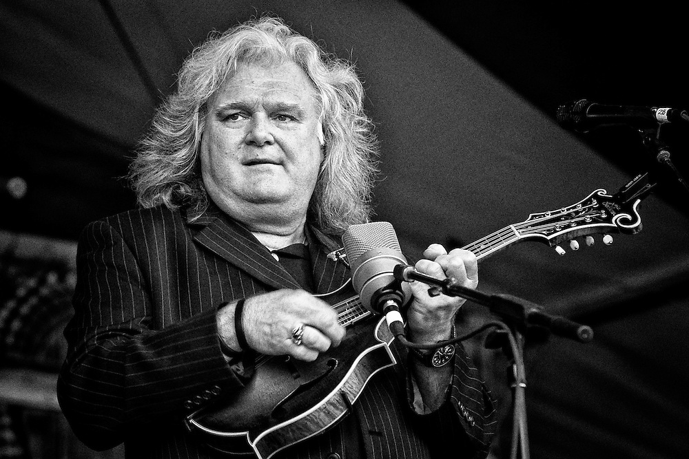 Ricky Skaggs performing on the Fais Do-Do Stage at the 2011 New Orleans Jazz & Heritage Festival at the Fair Grounds Race Course in New Orleans, LA. USA.