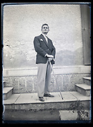 portrait of a man France circa 1930s