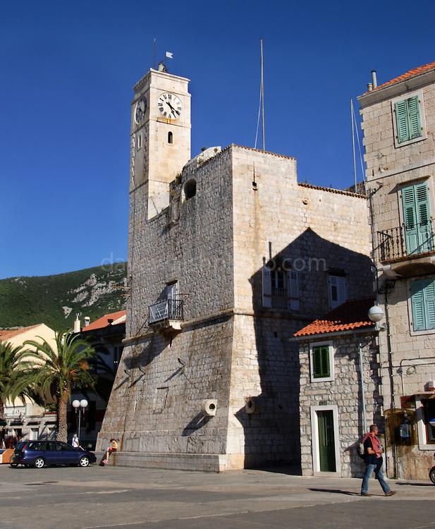 The Citadel at Komiza, Vis, Croatia..