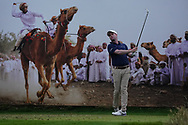 Jonathan Caldwell (NIR) on the 8th during Round 1 of the Oman Open 2020 at the Al Mouj Golf Club, Muscat, Oman . 27/02/2020<br /> Picture: Golffile | Thos Caffrey<br /> <br /> <br /> All photo usage must carry mandatory copyright credit (© Golffile | Thos Caffrey)