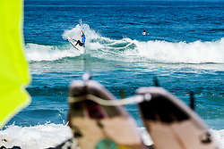 Maxime Huscenot (FRA) advances to Round 3 of the 2018 Ballito Pro pres by Billabong after placing second in Heat 3 of Round 2 at Ballito, South Africa.