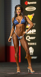 Sept.16, 2016 - Las Vegas, Nevada, U.S. -  ROMINA BASUALDO competes in the Bikini Olympia contest during Joe Weider's Olympia Fitness and Performance Weekend.(Credit Image: © Brian Cahn via ZUMA Wire)