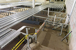 Central High School Bridgeport CT Expansion & Renovate as New. State of CT Project # 015-0174. One of 80 Photographs of Progress Submission 15, 05 May 2016 Former Library Deck Construction