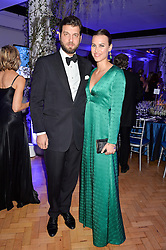 PRINCE CASIMIR ZU SAYN-WITTGENSTEIN-SAYN and ALANA BUNTE at the Sugarplum Dinner in aid Sugarplum Children a charity supporting children with type 1 diabetes and raising funds for JDRF, the world's leading type 1 diabetes research charity held at One Marylebone, London on 18th November 2015.