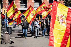 March 30, 2019 - Barcelona, Catalonia, Spain - Vox voters going to the Vox act  during a Vox party rally in Barcelona, Spain, on Saturday, March 30, 2019. (Credit Image: © Pau Venteo/NurPhoto via ZUMA Press)
