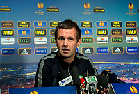 22/10/14 <br /> LENNOXTOWN<br /> Celtic manager Ronny Deila speaks to the press ahead of his side's upcoming UEFA Europa League clash against FC Astra
