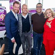 NLD/Amsterdam/20171212 - Perspresentatie All Mixed up the Challenge, Sipke Jan Bousema, Gordon Heuckeroth, Jorgen Raymann en Tineke Schouten