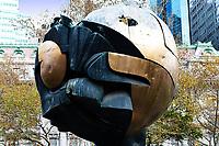 The Sphere, Fritz Koenig, Battery Park City, NY, NY