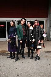 September 12, 2018 - New York, New York, United States - Brian See and others attends the Coach 1941 Runway Show during New York Fashion Week at Pier 94 on September 11, 2018 in New York City. (Credit Image: © Oleg Chebotarev/NurPhoto/ZUMA Press)