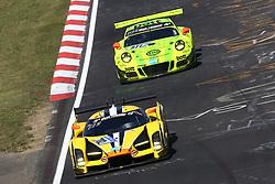 May 26, 2017 - Nurburgring, ALLEMAGNE - 702 TRAUM MOTORSPORT (DEU) SGC SGC003C SPX THOMAS MUTSCH (DEU) FRANCK MAILLEUX (FRA) ANDREA PICCINI (ITA) FELIPE LASER (DEU) #911 MANTHEY RACING (DEU) PORSCHE 911 GT3 R SP9 ROMAIN DUMAS (FRA) PATRICK PILET (FRA) FRED MAKOWIECKI (FRA) RICHARD LIETZ  (Credit Image: © Panoramic via ZUMA Press)