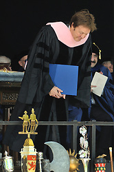 Paul McCartney bowing to the Audience after receiving his Honorary Doctor of Music Degree, Mus. D, Yale University, New Haven, CT