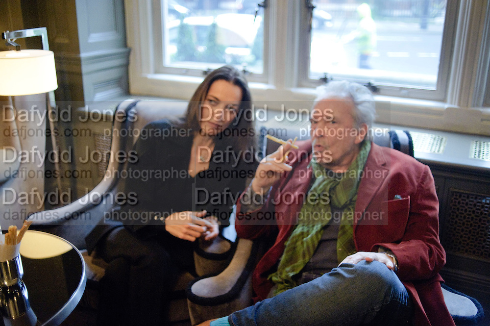CATHERINE BAILEY; DAVID BAILEY, Graydon and Anna Carter host a lunch for Carolina Herrera to celebrate the ipening of her new shop on Mount St. .The Connaught. London. 20 January 2010