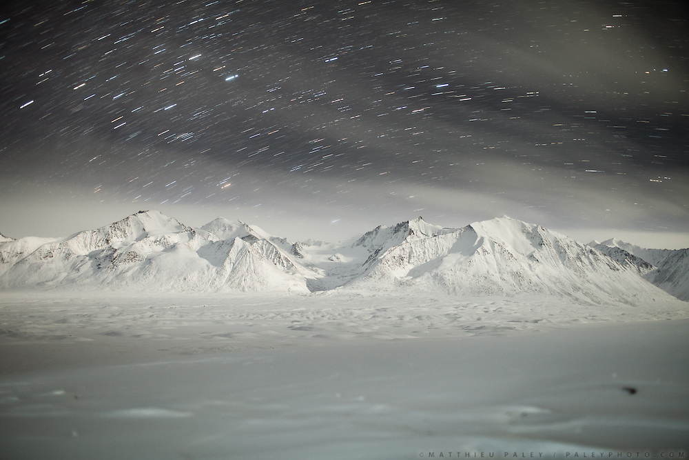 Early winter night. It gets down to -40C in winter, which can last up to 8 months in the Pamir.