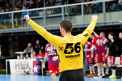 11.03.2017, Halle Hollgasse, Wien, AUT, HLA, SG INSIGNIS Handball WESTWIEN vs HC Fivers WAT Margareten, Oberes Playoff, 5. Runde, im Bild Kristian Pilipovic (HC FIVERS WAT Margareten) // during Handball League Austria, 5 th round match between HC Fivers WAT Margareten and SG INSIGNIS Handball WESTWIEN at the Halle Hollgasse, Vienna, Austria on 2017/03/11, EXPA Pictures © 2017, PhotoCredit: EXPA/ Sebastian Pucher
