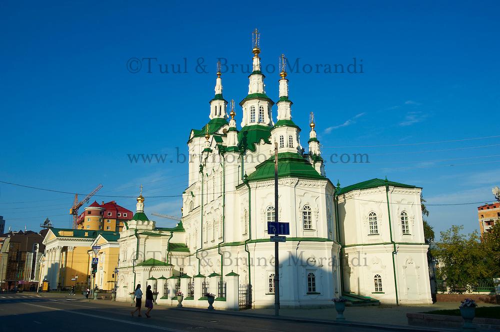 Russie, Siberie, Tioumen, eglise du Sauveur // Russia, Siberia, Tyumen, Saviour church