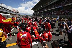 May 14, 2017 - Barcelona, Spain - Motorsports: FIA Formula One World Championship 2017, Grand Prix of Spain, .#5 Sebastian Vettel (GER, Scuderia Ferrari) (Credit Image: © Hoch Zwei via ZUMA Wire)